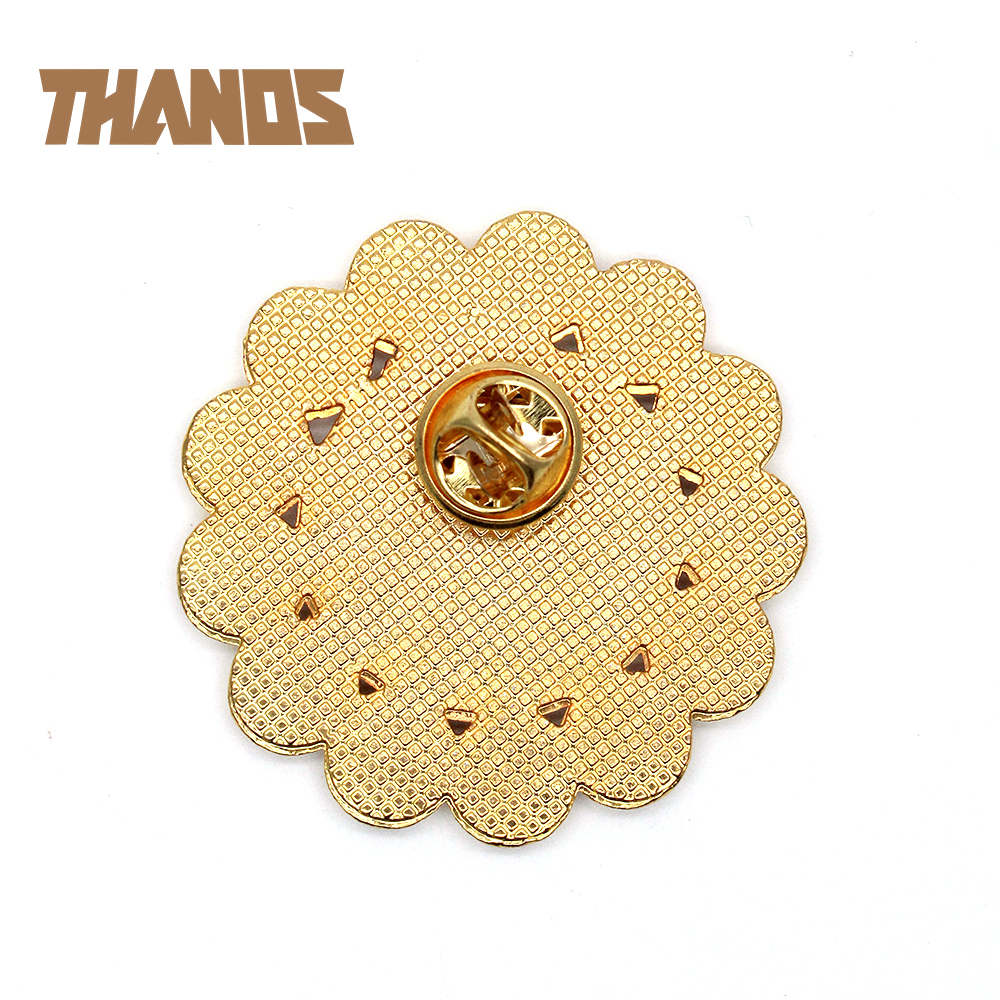 US $2 98 |Marvel Avengers Infinity War Thanos Infinity Gauntlet Symbol Gold  Metal Badge Brooch Pin Chest Button Ornament Collection Gift on
