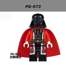 10pcs/lot PG973 Darth Vader Minifigures Christmas Cartoon Building Blocks Collection Toys X'mas Gifts Compatible Legoe Toys