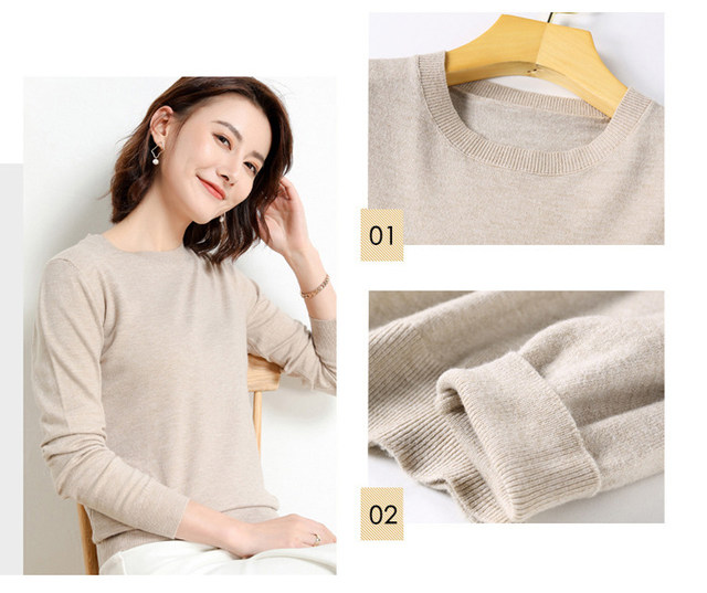 Yellow Cashmere Sweater For Women Sweaters Female Pink Wool Winter Woman Sweater Knitting Pullovers Knitted Sweaters Jumper 2019 14