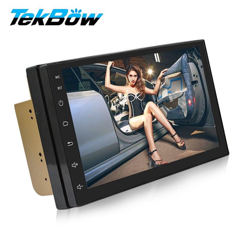 2 Din Android 6.0 Car Radio Stereo Multimedia Play GPS Navigation Wifi Bluetooth USB Autoradio FM Audio camera car DVD Player