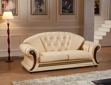 2016 Real Hot Sale European Style Armchair Chaise Beanbag Good Quality Cheap Price Sofa Lounge Couch European Classic Leather