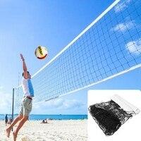 Professional Beach Volleyball Net High Quality Universal style 9.5mx1m volleyball net polyethylene material anti aging Beach