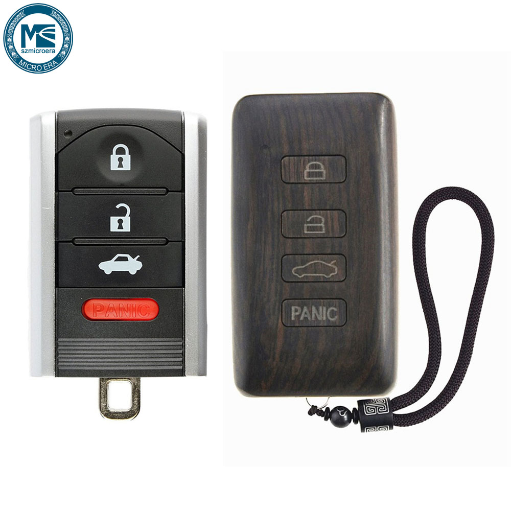 Acura Tl Battery: Rosewood Car Key Fob Shell Replacement Remote Control