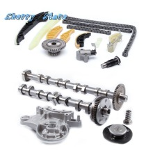 NEW 06H 109 022 BA Engine Camshaft & 13Pcs Engine Timing Chain Tensioner Repair Kit For VW Golf Audi A4 Q3 Skoda Seat 1.8/2.0T