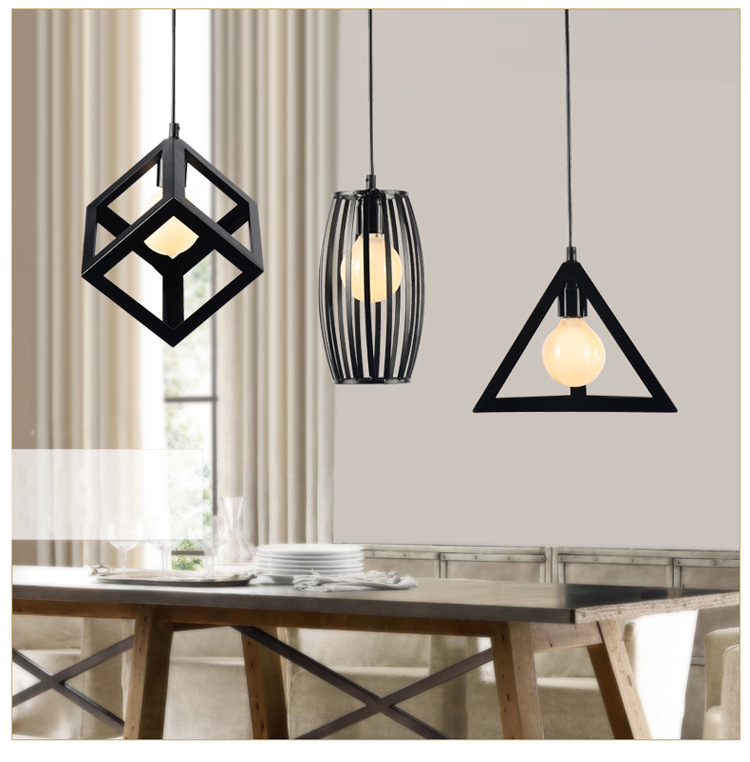 Badminton chandelier lighting Minimalist modern Scandinavian dining room restaurant lamps Creative personality bar hanging light