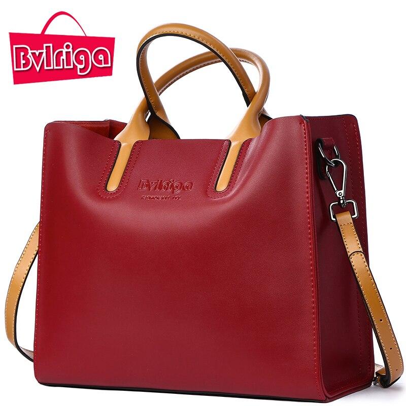 BVLRIGA Luxury Handbags Women Bags Designer Famous Brands Genuine Leather  Bag Female Crossbody Messenger Shoulder Bag Tote Bag 39a9fb2eb9c06
