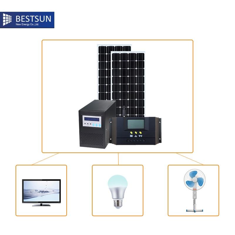 300w portable solar power panel system kit solar system. Black Bedroom Furniture Sets. Home Design Ideas
