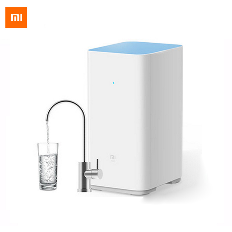 Original Xiaomi Smart Mi Water Purifier Xiaomi Water Purifier Home Water Filters clean Health Water & WIFI Android IOS Phone App xiaomi mi smart air purifier 2nd gen hepa home air cleaner app control