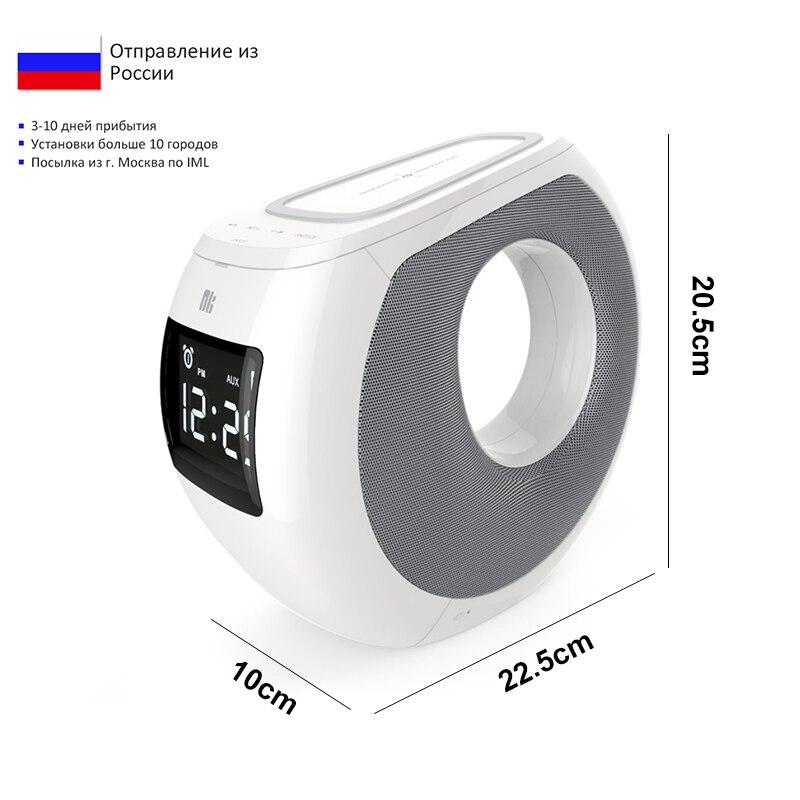 Qi chargeur sans fil Nillkin MC1 Bluetooth haut-parleur horloge alarme sans fil chargeur musique surround haut-parleur chargeur pour iPhone X Mi 9 - 5