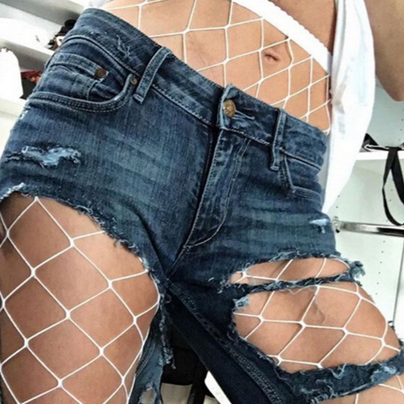 Womens Fishnet Tights Sexy Mesh Pantyhose 2018 Summer Ladies Nylon Stockings Hosiery High Waist Tights Plus Size Collant Femme