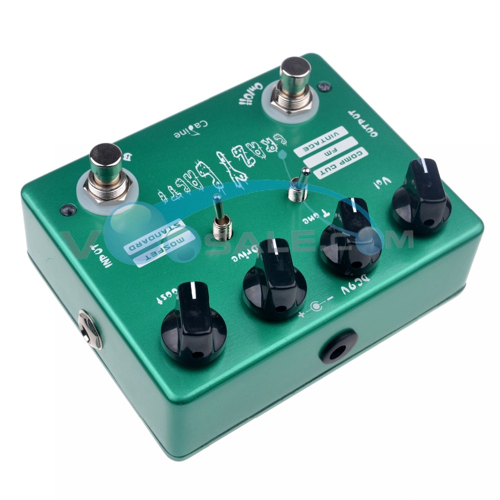Caline CP-20 Crazy Cacti Overdrive Гитара әсері - Музыкалық аспаптар - фото 5