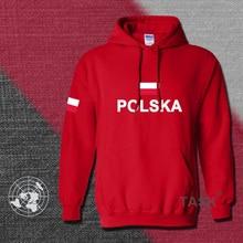 Polen hoodies männer sweatshirt polo trainingsanzug hip hop streetwear footballes jerseyes trainingsanzug nation Polish flag PL Polska Pol
