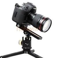 Macro Focusing Rail Slider Close Up BallHead Tripod Head Quick Release Plate For Canon Nikon Pentax