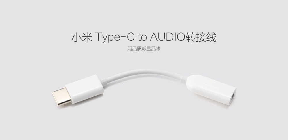 Image 2 - Original Type C to 3.5mm Earphone cable Adapter type C USB male to 3.5 AUX audio Jack for XIAOMI Mi 9 6 Note3 8 8se a2 6x-in Mobile Phone Cables from Cellphones & Telecommunications