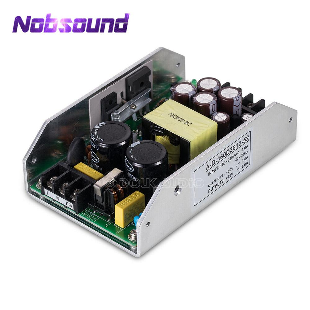 Nobsound Hi-Fi 350W Digital Power Amplifier Switching Power Supply 36V9A / 12V2A Dual Output