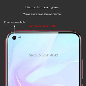 Image 5 - 2Pcs/lot 9H Tempered Glass For Huawei Honor 10 V20 V10 Screen Protector Toughened protective film For Huawei Honor View 10 V20