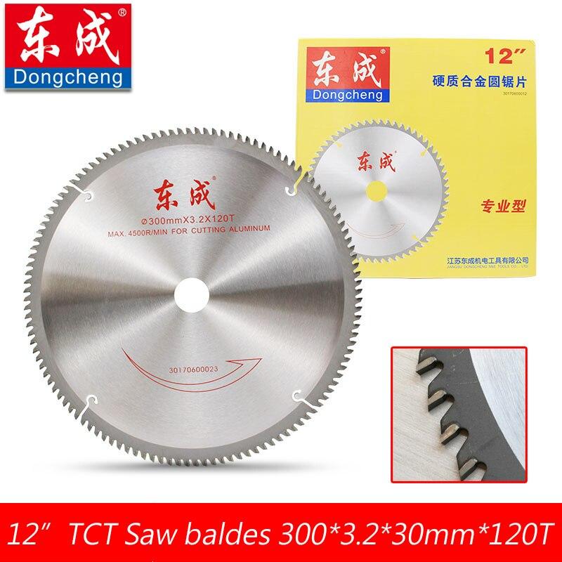 12 120 Teeth TCT Circular Saw Blades Cutting Aluminium 300*3.2*30.0mm*100T Table Saw Blade For Aluminium Bore 30.0 or 25.4mm