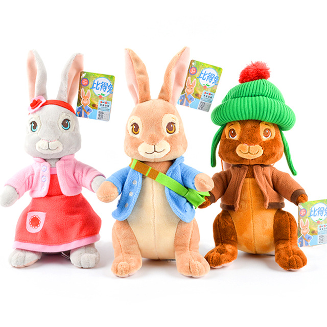 2017 Movie Peter Rabbit Plush Dolls Stuffed Toys for Children Gifts 30cm 46cm