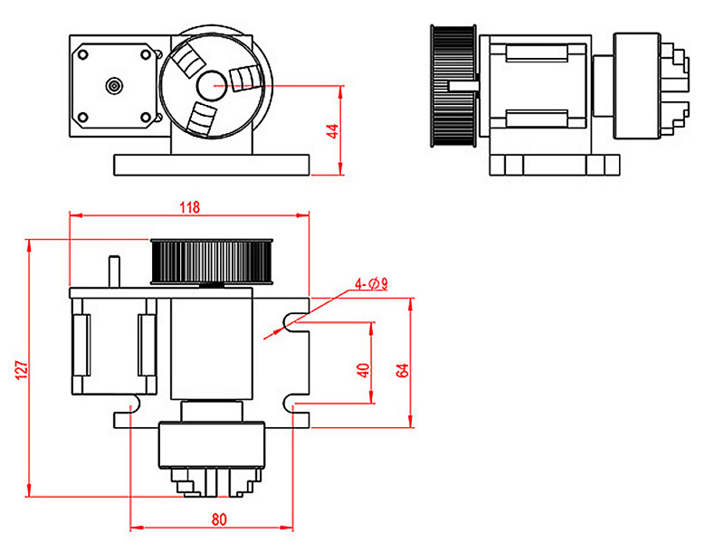 50mm chuck 4th axis (8)