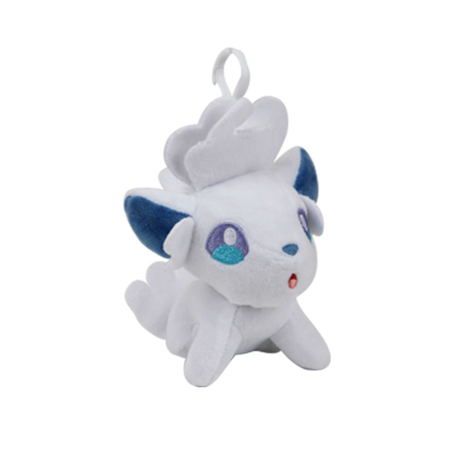 12-15CM Kawaii pokemones lot pikachu Mew Vulpix Magikarp Stuffed Mini Plush toy Anime dolls key chain Gift for Children girls