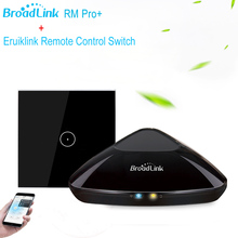 Eruiklink EU Standard Wireless Control Light Switches, Work with Broadlink rm pro, WIFI Switch for Smart Home