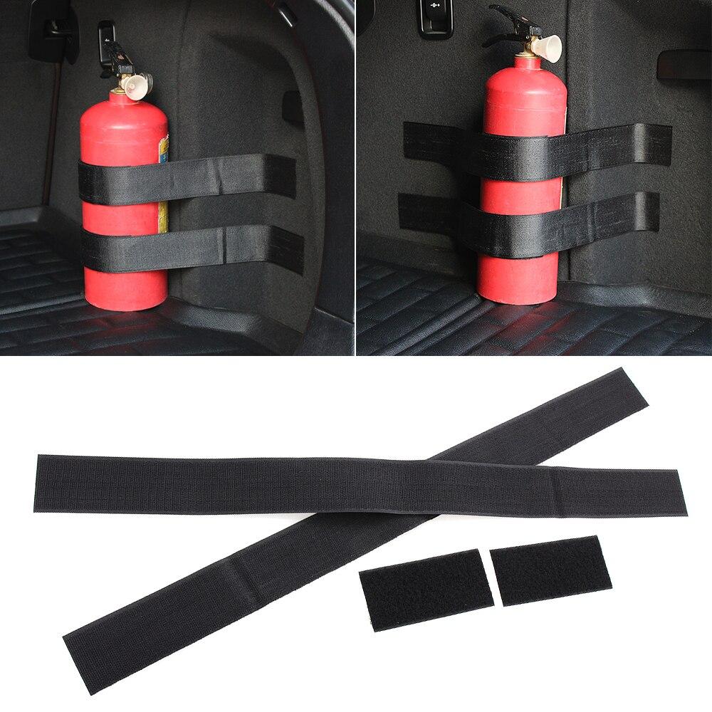 Cordiale 4 Pz/set Bagagliaio Di Un'auto Estintore Di Nylon Cinghia Di Fissaggio Per Lada Priora Berlina Sport Kalina Granta Vesta X-ray Xray