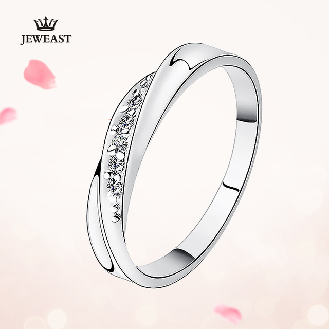 Pt950 Gold Pure Gold Ring Real Pt950 Solid Gold Rings Good Beautiful Upscale Trendy Classic Party Fine Jewelry Hot Sell New 2020