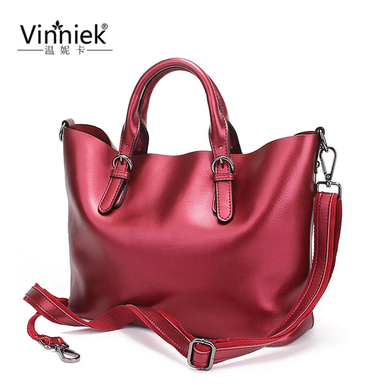Gold Genuine Leather Large Bag Luxury Handbag Women Bag Designer Female Shoulder Bag Famous Brand Casual Tote bolsa feminina sac