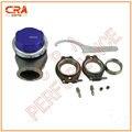 7psi CRA Rendimiento-Azul 45mm Wastegate externa Wastegate Wastegate universal para todos los vehículos de presión ajustable con Pinza