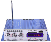 HY502 Hi Fi Mini Digital Motorcycle Auto Stereo Power Car Amplifier Amplificador Audio Music Player Support