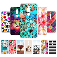3D DIY For Coque Meizu M8 Case Cover Soft TPU Silicone Phone Fundas lite Capas M 8 M8lite 5.7