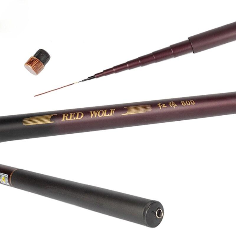 Redwold telescopic carbon fiber fishing fishing rod for Batman fishing pole