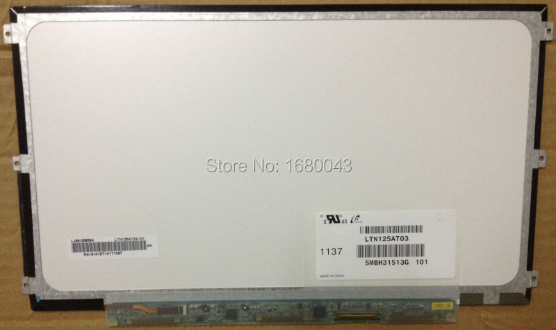LTN125AT03 fit B125XW03 LTN125AT01 401 201 LP125WH2 TLB1 B125XW01 V.0 LCD Laptop LED Display Screen Left+Right 3 screw holes free shipping b125xtn02 0 lp125wh2 tpb1 hb125wx1 201 for dell e7240 e7250 lcd screen edp 768 30 pin left right 3 screw holes
