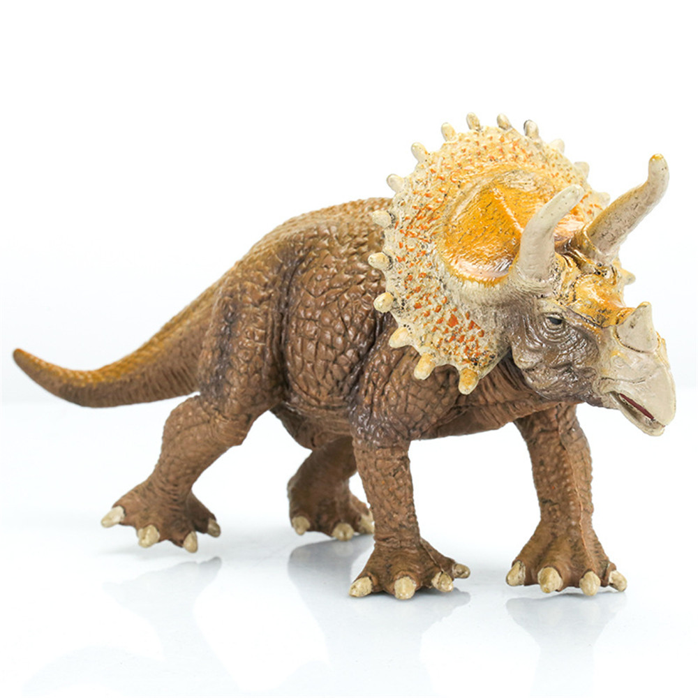 20cm PVC Dinosaurs Toy Triceratops Figure Animal Figures Diecast Model Decoration Boys Gift Collection Children Funny Toys