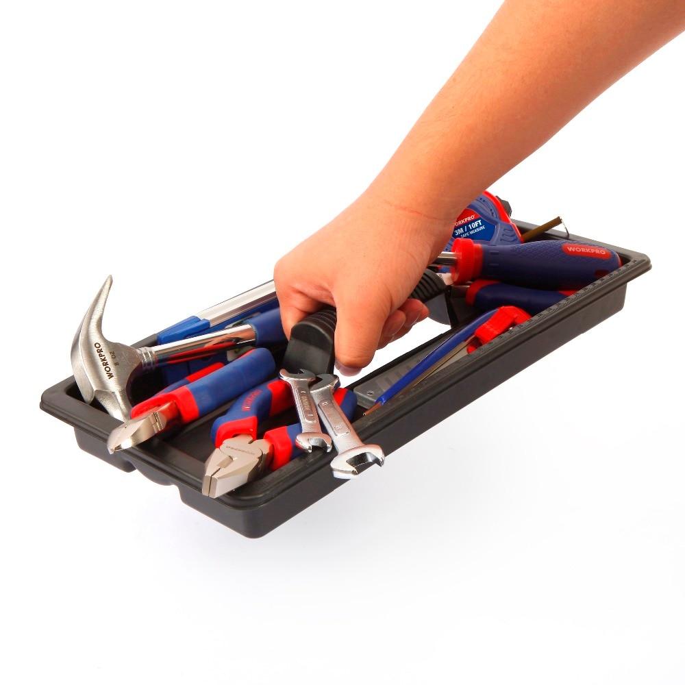 WORKPRO 170PC Juego de herramientas para el hogar Herramientas para - Juegos de herramientas - foto 4
