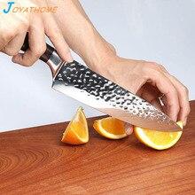 Joyathome 8 Inch Chef Knife Slicing Hand Forged  Fruit Cutter Sushi Sashimi Couteau Cuisine Japanese