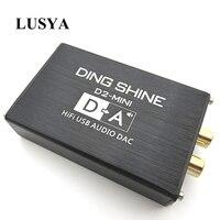 Lusya HIFI USB external sound card ES9018K2M DAC decoder NE5532+TL072 op amps support 24bit 96kHz A2 002