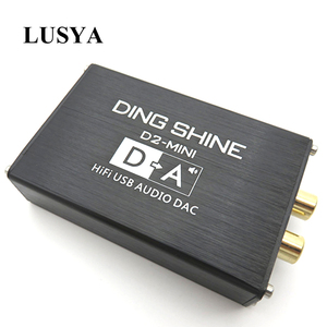 Image 1 - Lusya HIFI USB חיצוני כרטיס קול ES9018K2M DAC מפענח NE5532 + TL072 מגבר שרת תמיכת 24bit 96kHz A2 002