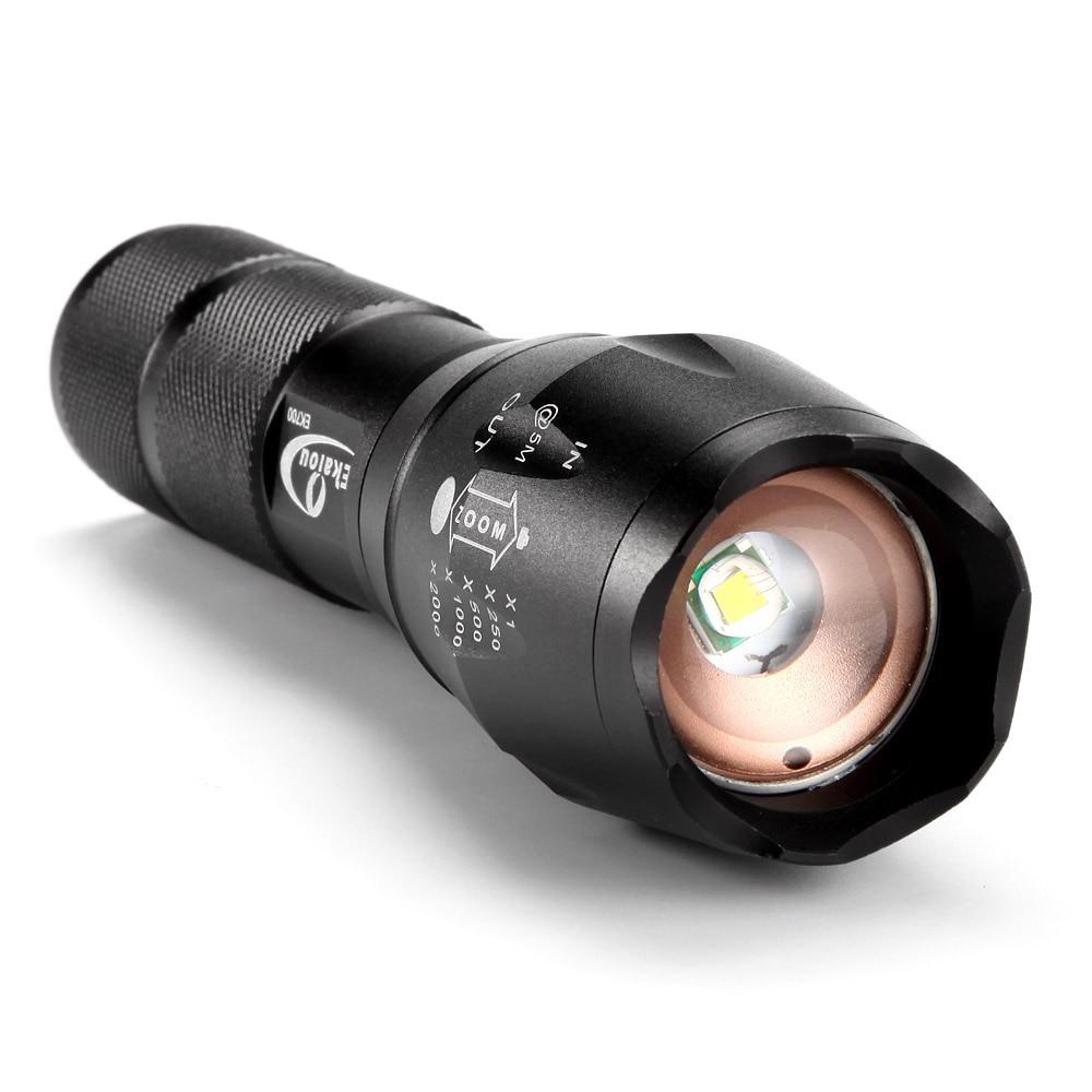 Hot XML T6 5000 lúmenes LED antorcha táctica impermeable portátil - Iluminación portatil - foto 2