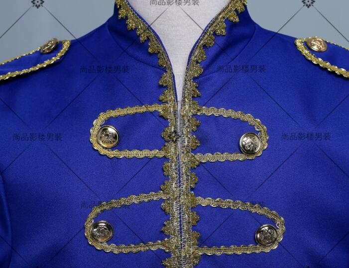 Homme Costumes Danse Terno Robe Blazer Designs Scène Hommes Chanteurs Masculino Noir Smoking bleu Pour De blanc Royal Les Vêtements Veste Style qxY6IwC