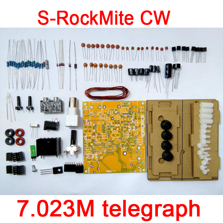 S-Rock Mite CW Transceiver Shortwave Radio Telegraph 7.023M with Wifi Assembled