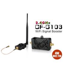 4 W Amplificadores de Banda Larga Sem Fio Wi fi 2.4 Ghz 802.11n Amplificador De Potência Faixa Signa Reforço para Router wifi Repetidor de Sinal Wi fi