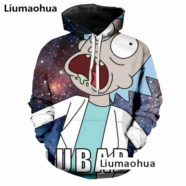Liumaohua Nuovo Autunno Nuovi Uomini/Donne Sexy Felpa Pullover Ragazza Timida 3d Stampa Tuta tops Harajuku Anime Ahegao Hoodies
