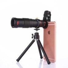 Универсальный клип 22x двойной зум телеобъектив телескоп 4 K HD телефон объектив для iPhone XS XR XS MAX X 8 8 Plus 7 7 Plus 6 6 S Plus SE 5s 5