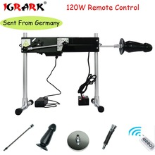 IGRARK Sex Machine with Remote Control Super Silent Ultra Stability Solid Steel Turbo Gear Power 120W Sex Machine with Dildo