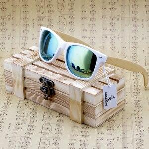 Image 4 - BOBO ptak Handmade okulary kobiety 2020 nowych moda bambusa nogi okulary kolorowe soczewki polaryzacyjne óculos de sol feminino
