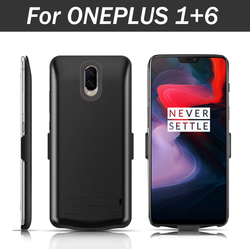 New External Battery Case 5000mAh Portable Backup Charger Cover Case for ONEPLUS 3 3T / 5 5T / 1+ 6 Rechargeable Power Bank