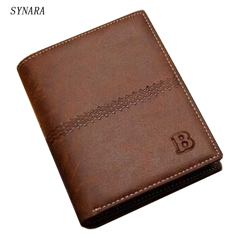 new 2017 men wallets famous brand mens wallet male money purses Soft ID Card Case New classic soild pattern designer wallet