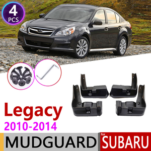 Car Mudflap for Subaru Legacy Sedan 2010 2011 2012 2013 2014 Fender Mud Guard Flap Splash Flaps Mudguards Accessories 5th 5 Gen