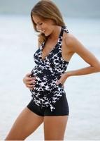 Pregnant Swimwear Plus Size Maternity Tankini Set Swimsuit Women Swimwear Large Sport Suit Swimming Tankinis Bathing